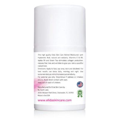 Elida Skin Care Retinol Cream with anti-aging and anti-wrinkle properties